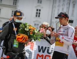 Idar med 2. plass i Tour of the Alps